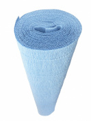 Italian Crepe Paper roll 180 gramme - 556 SKYE BLUE
