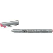 Zig 0.3mm Memory System Tip Millennium Marker, Pure Pink