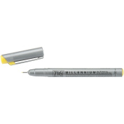 Zig 0.3mm Memory System Tip Millennium Marker, Pure Yellow