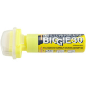 Zig 30mm Illumigraph Biggie Wide Tip Marker, Yellow