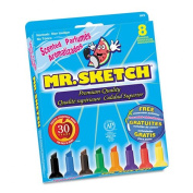 Mr. Sketch : Mr. Sketch Scented Watercolour Markers, 8 Colours, 8/Set -:- Sold as 2 Packs of - 8 - / - Total of 16 Each