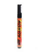 Molotow One4All Acrylic Paint Markers 4 mm signal black 180 [PACK OF 3 ]