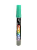 Marvy Uchida Decocolor Acrylic Paint Markers metallic green [PACK OF 6 ]