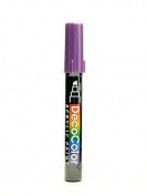 Marvy Uchida Decocolor Acrylic Paint Markers metallic violet [PACK OF 6 ]