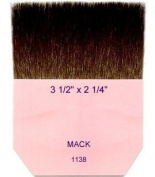 Mack Brush 1138 7.6cm - 1.3cm x 5.7cm Gilders Tip Brush Kazan Squirrel Hair MAC