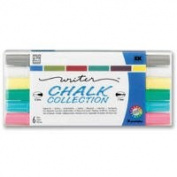 Chalk Ink Liquid Chalk Markers- Classic Set of Six Colours