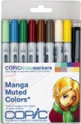 Copic Markers 9-Piece Ciao Manga Set, Muted