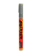 Molotow One4All Acrylic Paint Markers 2 mm metallic silver 227 [PACK OF 6 ]