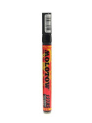 Molotow One4All Acrylic Paint Markers 2 mm signal black 180 [PACK OF 6 ]