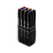 ShinHan Touch Twin Marker Set 12 Basic