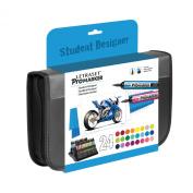 LETRASET Student Pro Marker, Set of 24