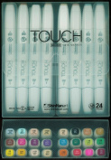 ShinHan Touch Twin Brush Marker Set 24