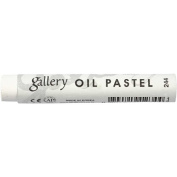 Gallery Extra Soft Oil Pastel Individual - White