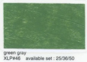 Cray-Pas Expressionist Pastel Green Grey