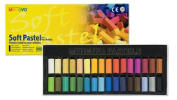 Mungyo Gallery Soft Pastels Cardboard Box Set of 12 - Earth Tones