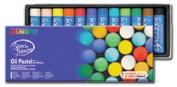 Mungyo Gallery Jumbo Oil Pastels Cardboard Box Set of 12 Jumbo - Assorted Colours