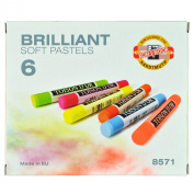 Koh-I-Noor Toison D'or Art Set of Brilliant Soft Pastels 8571