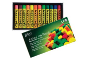 Mungyo Gallery Soft Oil Pastels Set of 12 - Assorted Colours