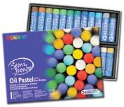 Mungyo Gallery Jumbo Oil Pastels Cardboard Box Set of 24 Jumbo - Assorted Colours