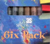 Art Spectrum Soft Pastel Six Pack- Stone Tones