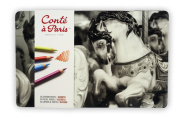 Conté à Paris Pastel Pencils with 24 Assorted Colours