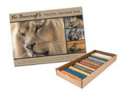 Vic Bearcroft Wildlife Pastels Basic Set & Velour Pad Offer