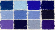 Terrages Pastels by Diane Townsend- Set of 12 Blue Tones