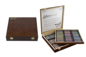 Mungyo Gallery Soft Pastels Wood Box Set of 90 - Assorted Colours