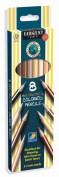 Sargent Art 22-7208 Colours of My Friends 8-Count Multicultural Coloured Pencil Set