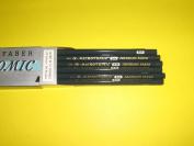 Eberhard Faber, Microtomic, Van Dyke, Drawing Pencils, Round Lead, Hexagonal Wood, 5H, #600, Hi Density Lead, Scientific Grading, Ultra Smoothness, Sold Individually