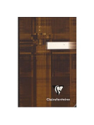 Clairefontaine Cloth-bound Notebooks 9.5cm . x 14cm . ruled 96 sheets [PACK OF 4 ]