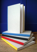 Stitch Bound Blank Sketch Book- Blue Spine 21cm x 30cm