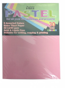 The Creative Pastel Pack of Drawing Papers 30 Sheets