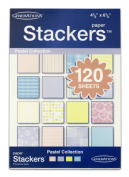 Generations Paper Stackers Mounting Paper, 11cm x 17cm , Pastel Assortment, 120 Sheets