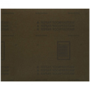 Norton Sandwet Job Pack Abrasive Sheet, Paper Backing, Silicon Carbide, Waterproof, Grit 400