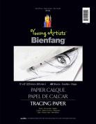 Young Artists Bienfang Tracing Paper 23cm x 30cm 40 Sheets-24lb