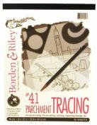 Borden & Riley Parchment Tracing Paper No. 41 - 25 lb 36cm x 43cm