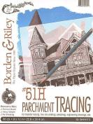 Borden & Riley SETH COLE Tracing Paper Pad 23cm . x 30cm . pad of 50