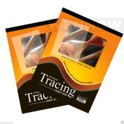 "Wennow ""2 Pcs 23cm x 30cm Premium Quality Tracing Paper Pad 30 Sheets"