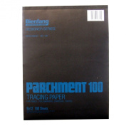 Bienfang Parchment Tracing Pad, 100 sheets, 23cm by 30cm