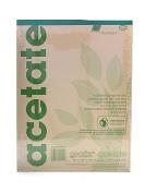 Grafix Matte Acetate Film Pads 0.003 23cm . x 30cm . pad of 25