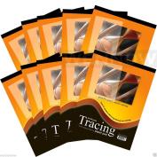"Wennow ""10 Pcs 23cm x 30cm Premium Quality Tracing Paper Pad 30 Sheets"