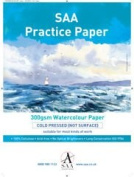 SAA Practise Paper 1/4 Imperial, NOT, 10 Sheets