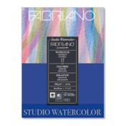Fabriano Studio Watercolour Pad 8X10 12/Shteets