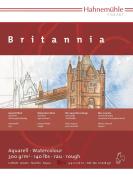 Hahnemuhle Britannia 300gsm Block - 17 x 24cm Rough