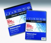 Daler Rowney Aquafine Pad 300gsm 25x25cm 12 sheets - gummed pad
