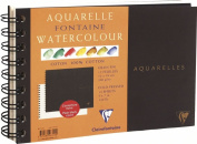 Clairefontaine Watercolour 300g Spiral Pad 12x18cm NOT - 12 sheets