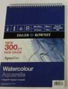 """Daler Rowney Aquafine SP 300gsm 305x228mm (12x9"""") 12 Sheets- spiral"""