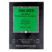 Arches Watercolour Pad Cold Press 9X12