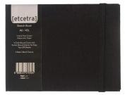 Grandluxe Black Etcetra Sketchbook, Medium, 10cm x 15cm